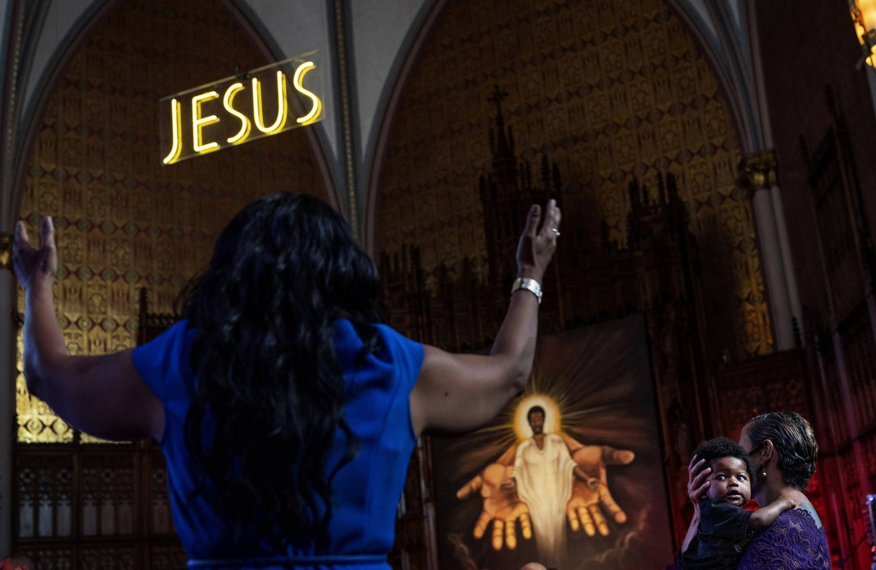 "1ST PLACE - David Goldman – The Associated Press – ""Prayer"""