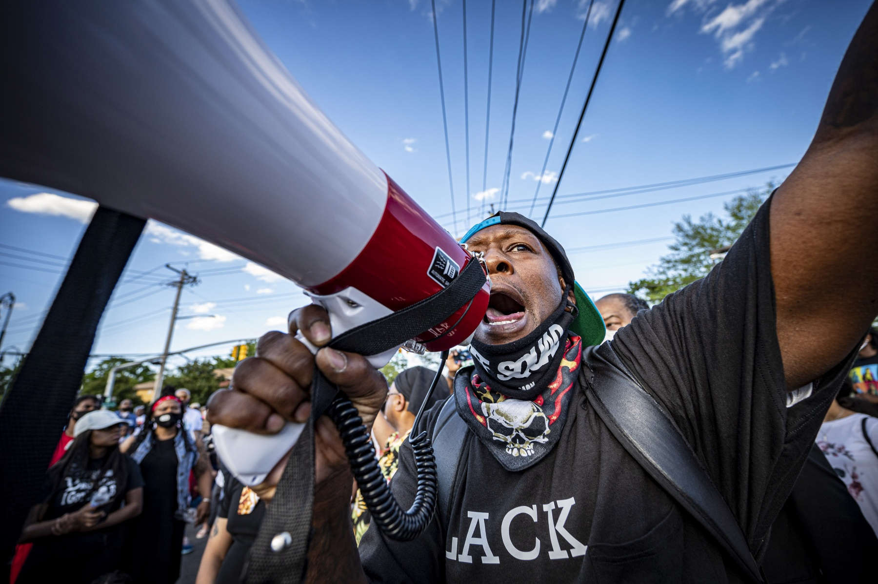 """1ST PLACE - J. Conrad Williams – Newsday – """"Justice for George Floyd protests"""""""