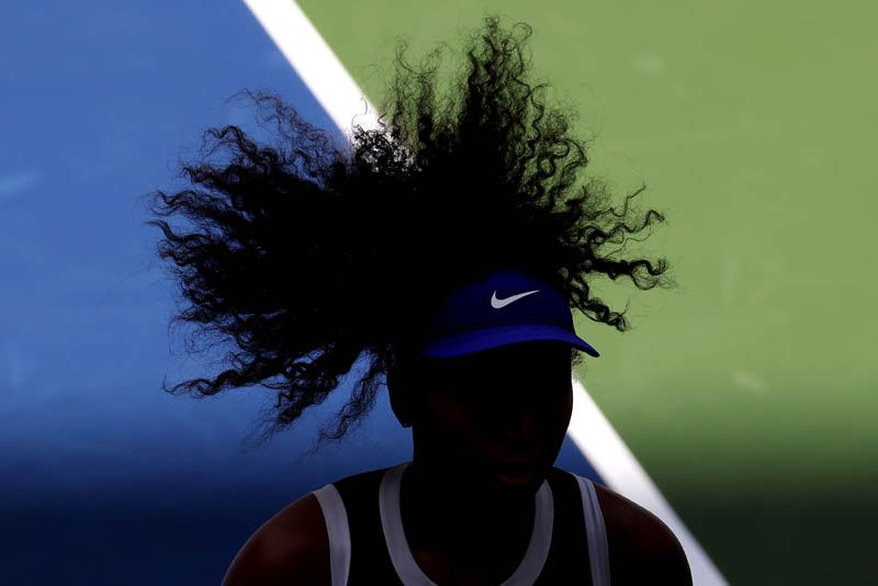 "1ST PLACE – Al Bello – Getty Images – ""Osaka's Hair"""